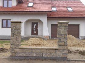 Budowa ogrodzenia w systemie Joniec – fot.1