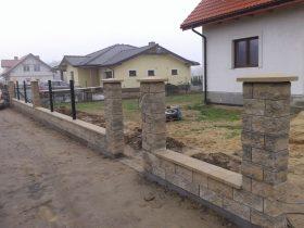 Budowa ogrodzenia w systemie Joniec – fot.2