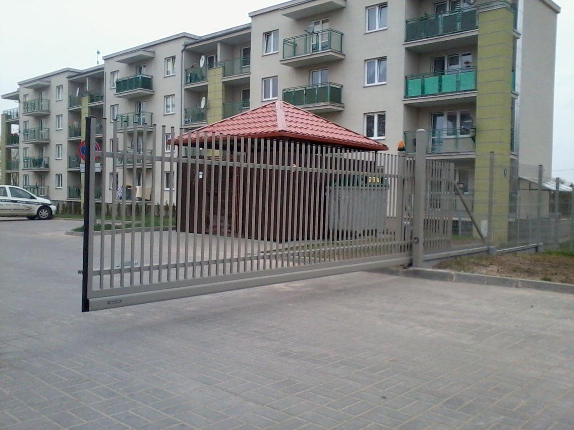 """Ogrodzenie panelowe """"Wiśniowski"""" fot.1"""